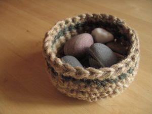 Crochet Jute Bowl