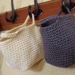 Crochet Cotton Small Totes